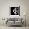 King Of Kings Large Format - Artist Print with Frame (Print Size:80cm x 80cm; Framed Size 94cm x 94cm)