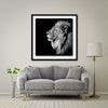 King Of Kings Giant Format - Artist Print with Frame (Print Size:100cm x 100cm; Framed Size 114cm x 114cm)