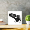 Under The Shadow Of His Wings Classic - Metal Print 30cm x 30cm