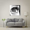 Behold the Cross Giant Format - Metal Print 100cm x 100cm