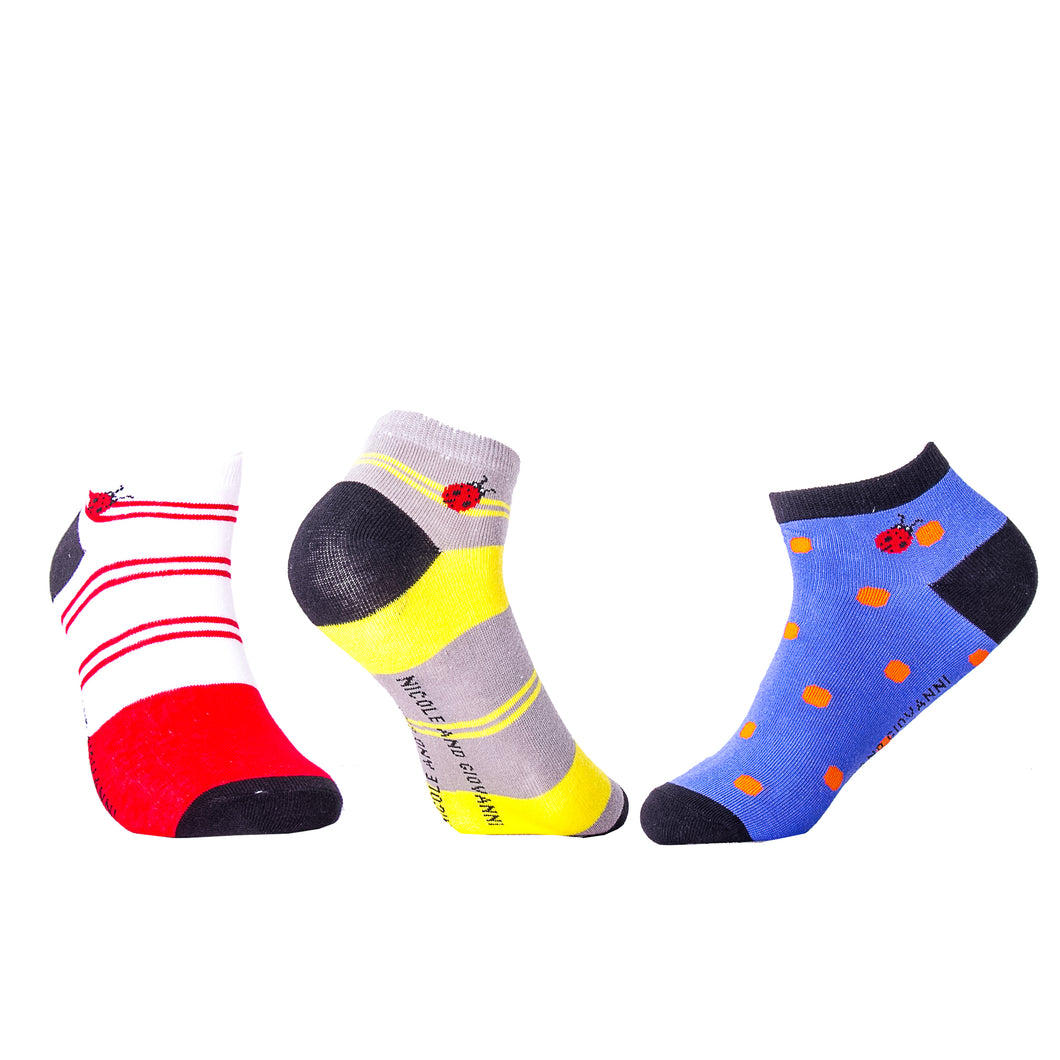 ANKLE SOCKS GIFT PACK OF 3