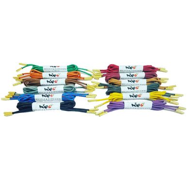 N&G Dress Shoe Laces – Pack of 12
