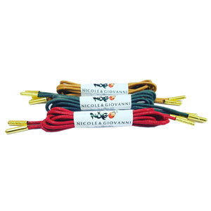 N&G Dress Shoe Laces – Pack of 3 Set 4