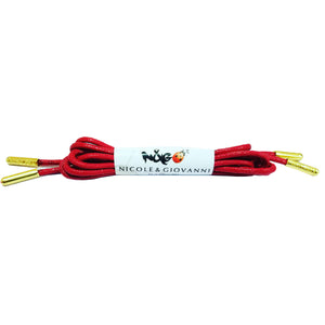 N&G Kesiena Dress Shoe Laces - Red