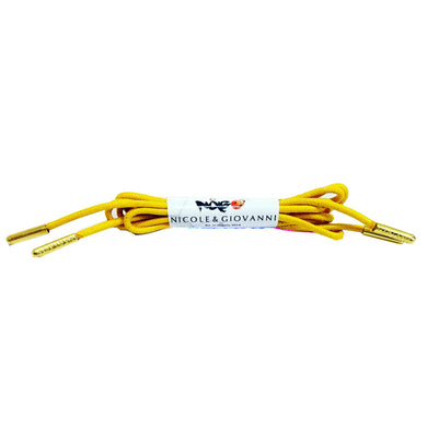 N&G Zikora Dress Shoe Laces - Yellow