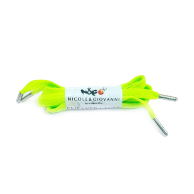 N&G Amara Sneaker Laces - Lemon Green
