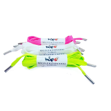 N&G Sneaker Laces Pack of 3 Set 1