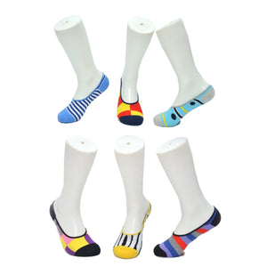 N&G No-Show Gift Pack of 6 Socks – Set 1