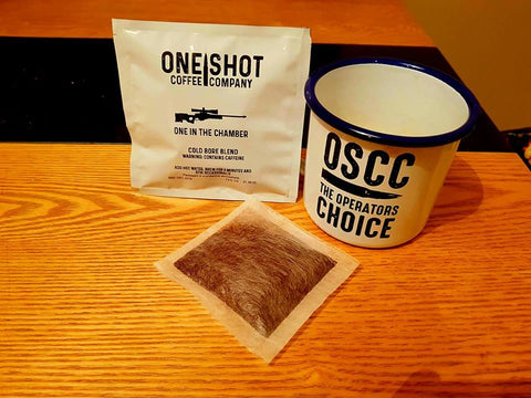 'One In The Chamber' MILSIM COFFEE BAGS