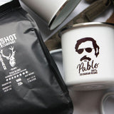 One Shot Coffee Co. Pablo 100% Columbian Mug