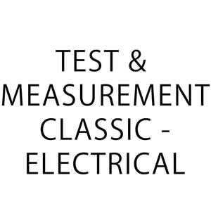 Test & measurement classic - Electrical