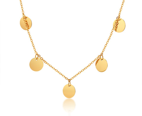 Multi Coin • Kette Gold
