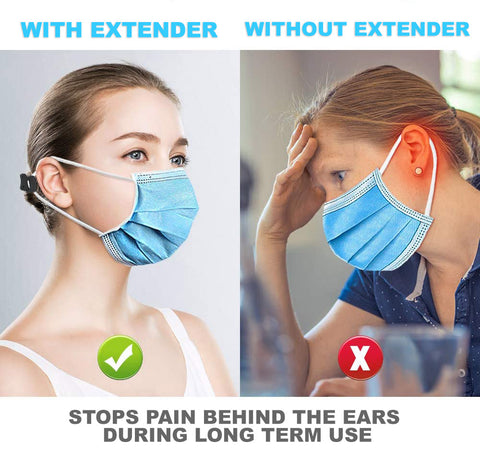 SILICONE MASK EXTENDER EAR PAIN