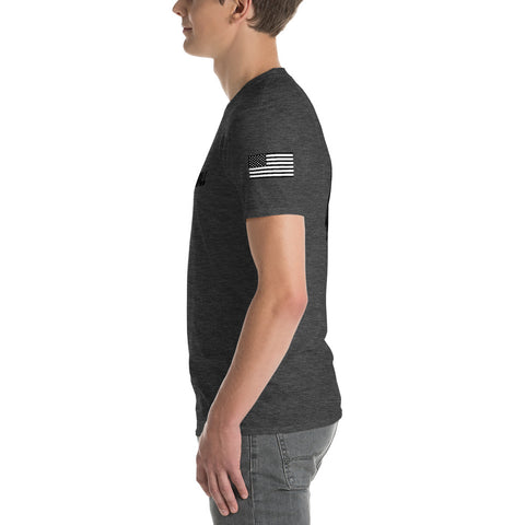 Image of Nero Flag Black With Back Logo Shirt