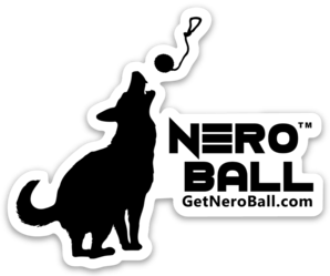 Nero Ball Logo Sticker