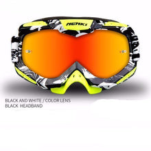 Fresh Deals Auto Accessory black white Unisex Motocross Goggles For Motorcycle