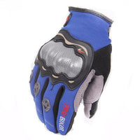 Fresh Deals Auto Accessory Blue / M Full Finger Motorcycle Racing Gloves