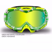 Fresh Deals Auto Accessory Fluorescent green Unisex Motocross Goggles For Motorcycle