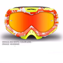 Fresh Deals Auto Accessory Fluorescent orange Unisex Motocross Goggles For Motorcycle