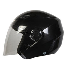 Fresh Deals Auto Accessory Glossy Black / M Motorcycle Open Face Helmet
