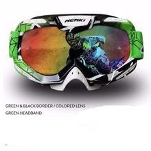 Fresh Deals Auto Accessory green 1 Unisex Motocross Goggles For Motorcycle