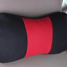 Fresh Deals Auto Accessory Red Car Neck Safety Support Headrest