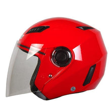 Fresh Deals Auto Accessory Red / M Motorcycle Open Face Helmet