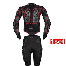 Fresh Deals Auto Accessory Red / S Body Armor Racing Motorcycle Protective Jacket Pants