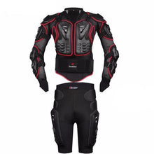 Fresh Deals Auto Accessory Red / S Motorcycle Armor Protective Jacket