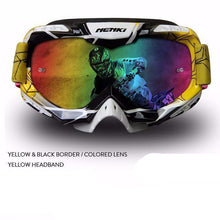 Fresh Deals Auto Accessory yellow 1 Unisex Motocross Goggles For Motorcycle