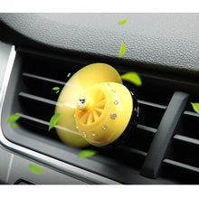 Fresh Deals Auto Accessory Yellow Lemon Air Auto Flavoring Parfume Fragrance Diffuser For Car