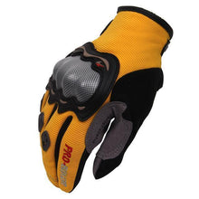 Fresh Deals Auto Accessory Yellow / M Full Finger Motorcycle Racing Gloves