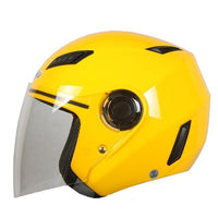 Fresh Deals Auto Accessory Yellow / M Motorcycle Open Face Helmet