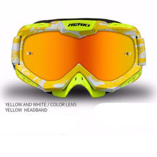 Fresh Deals Auto Accessory yellow Unisex Motocross Goggles For Motorcycle