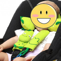 Fresh Deals Automotive & Motorcycle 4 chick Baby Car Shoulder Pads Cushion Support Seat Belt