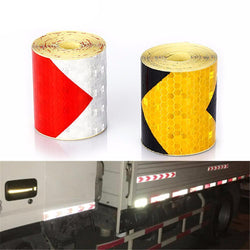 Fresh Deals Automotive & Motorcycle Arrow Reflective Adhesive Tape Safety Caution Sticker