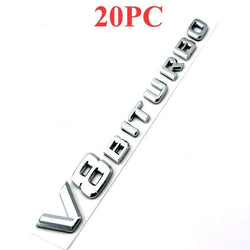 Fresh Deals Automotive & Motorcycle Biturbo Badge Car Emblem Silver Auto Styling Sticker