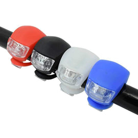 Fresh Deals Automotive & Motorcycle Black LED Head Front Rear Wheel Bike Light