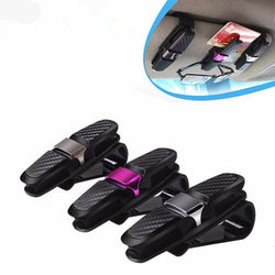 Fresh Deals Automotive & Motorcycle Car Eyeglass Holder Smart Card Ticket Pen