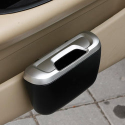 Fresh Deals Automotive & Motorcycle Car Mini Trash Can Dustbin Holder Storage Box Case