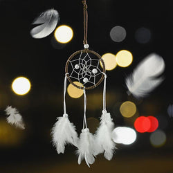 Fresh Deals Automotive & Motorcycle Car Ornaments Feather Dream-catcher Pendant Car
