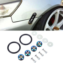 Fresh Deals Automotive & Motorcycle Car Quick Release Fasteners Surrounds Reinforcement Ring