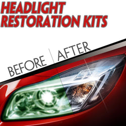 Fresh Deals Automotive & Motorcycle Car Styling Headlight Restoration Polishing Kit