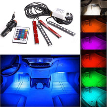 Fresh Deals Automotive & Motorcycle Car Truck 9 LED Neon Interior Light Lamp