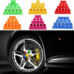 Fresh Deals Automotive & Motorcycle Car Wheel Hub Screw Cover Nut Caps Bolts