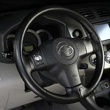 Fresh Deals Automotive & Motorcycle Styling Steering Wheel Cover With Needles and Black Wire