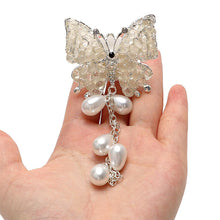 Fresh Deals Automotive & Motorcycle White Aroma Clip Butterfly Car Air Freshener Perfume