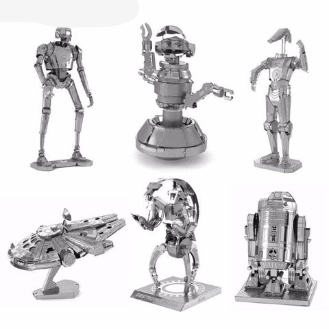 Fresh Deals Baby 3D Metal Puzzles Fighter Millennium