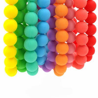 Fresh Deals Baby Baby Rainbow Chewable Bead Necklace