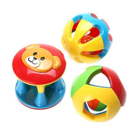 Fresh Deals Baby Baby Rattles Jingle Ball Ring Toy